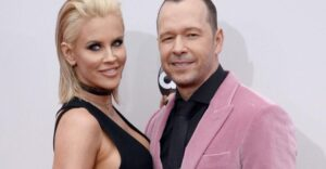 Kimberly Fey and Donnie Wahlberg