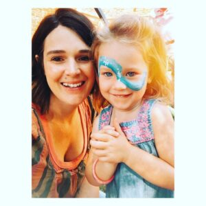 Aaron Ashmore wife Zoë Kate and daughter