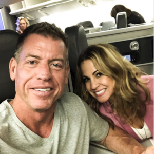 Troy aikman current wife