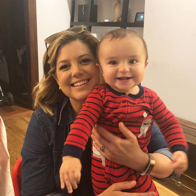 Brianna Keilar pregnant and kids
